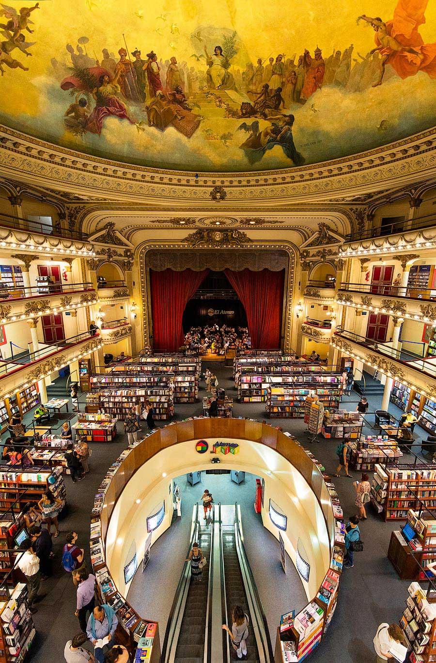Ateneo Grand Splendid library, Buenos Aires