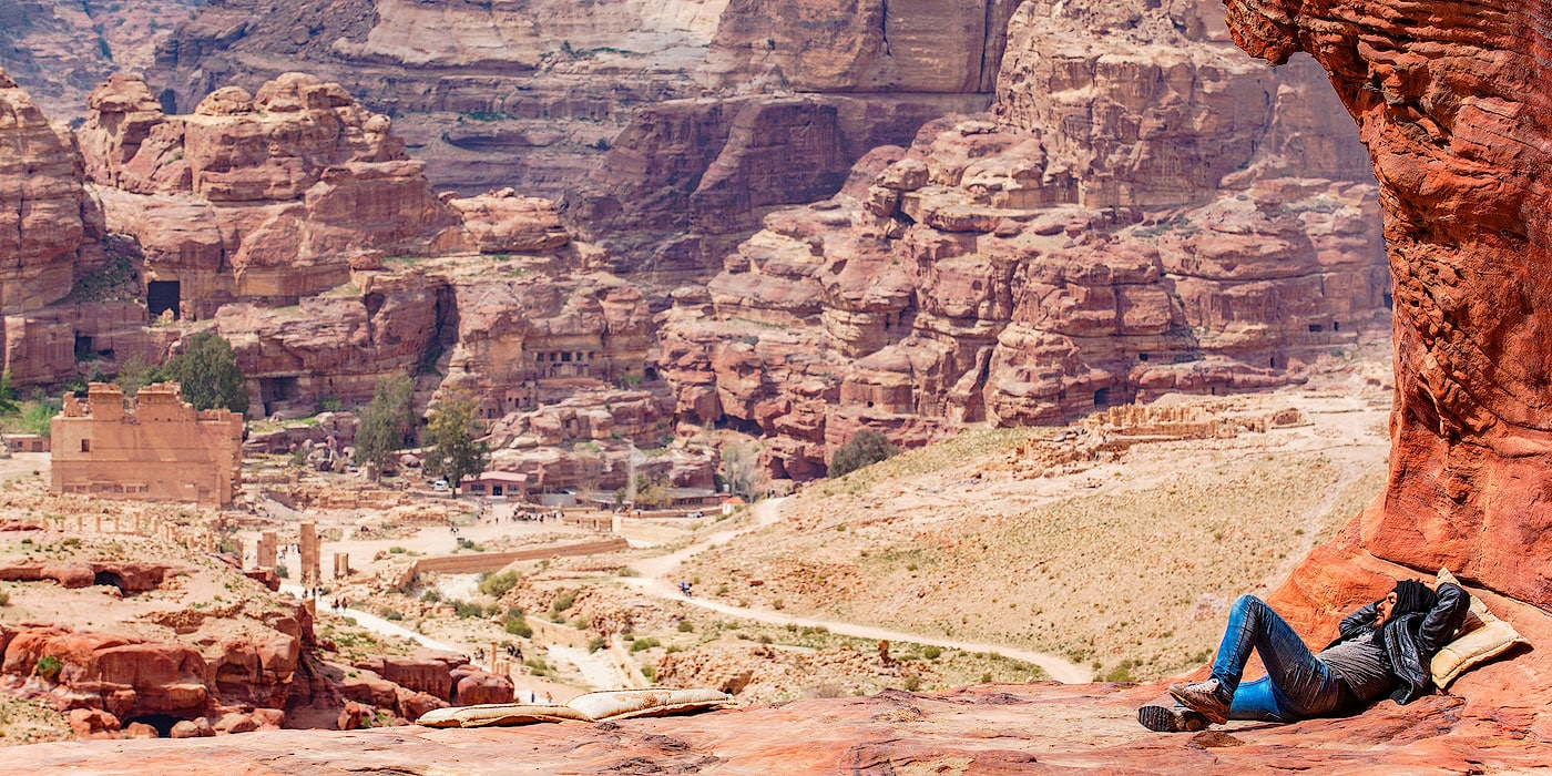 Bedouin in Petra, Jordan
