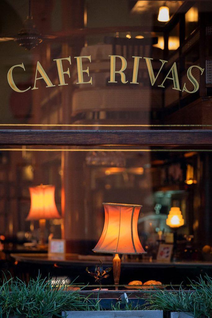 Cafe Rivas in San Telmo, Buenos Aires