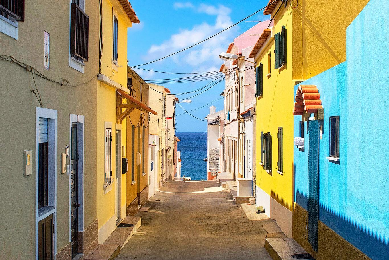 Peniche village in Portugal