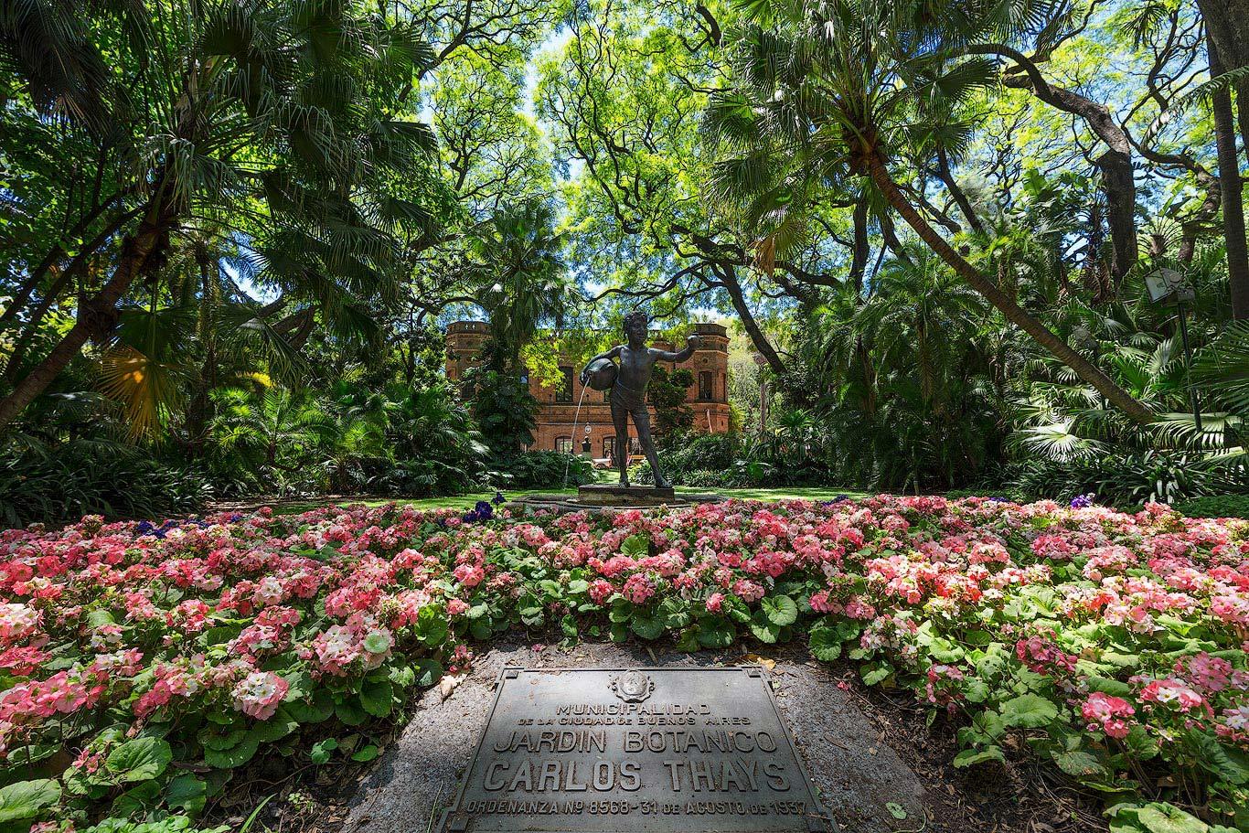 Jardin Botanico in Buenos Aires