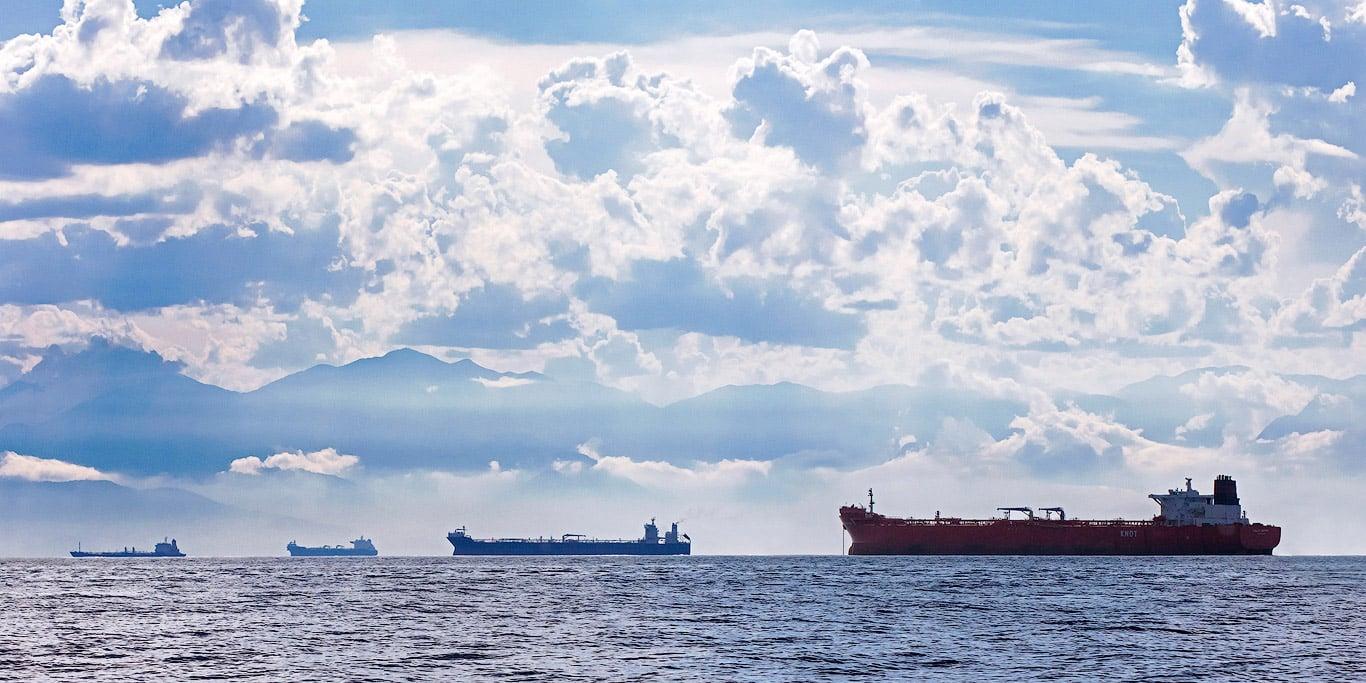 Oil tankers, Brazil