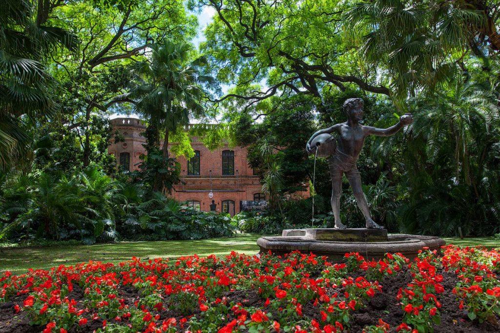 Botanical garden in Buenos Aires