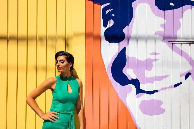 Gardel photo shoot in Buenos Aires