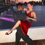 Tango dancers photo shoot in Puerto Madero