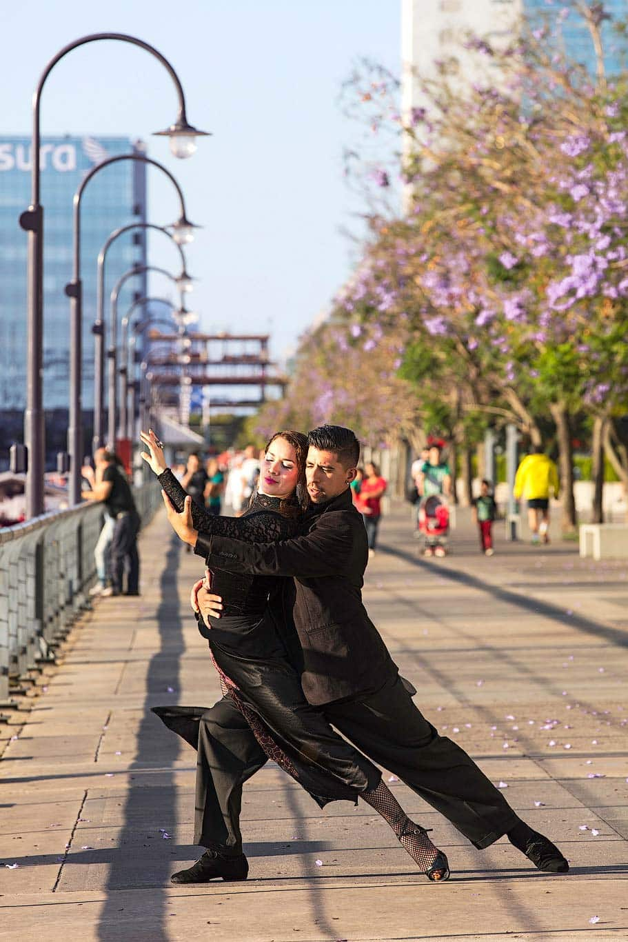 Tango dancers photo shoot in Buenos Aires