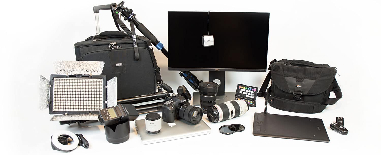 Equipment, gear of a travel photographer
