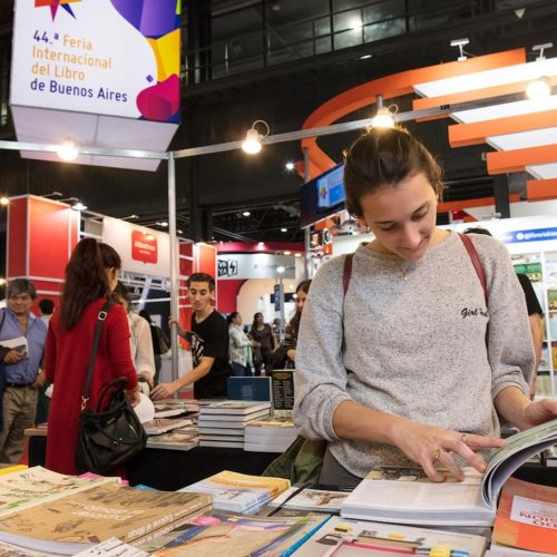 The Book Fair in Buenos Aires