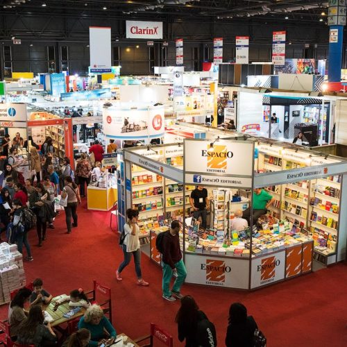 The Book Fair in Buenos Aires, Argentina.