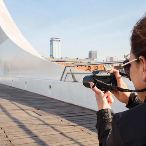Photography class in Puerto Madero, Buenos Aires