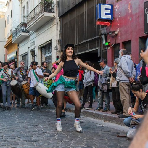Photography class in San Telmo, Buenos Aires
