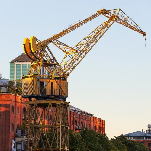 Puerto Madero giant Crane, Buenos Aires