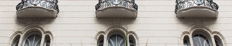 Exterior of a building in Recoleta, Buenos Aires