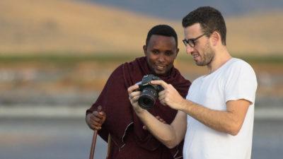 Portrait session in Tanzania, Africa.