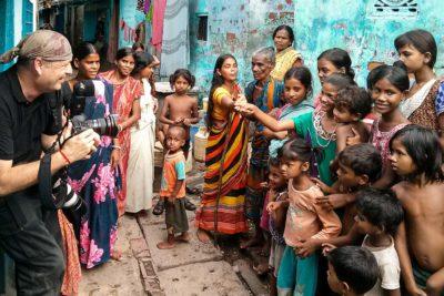 Gavin Gough in Kolkata, India
