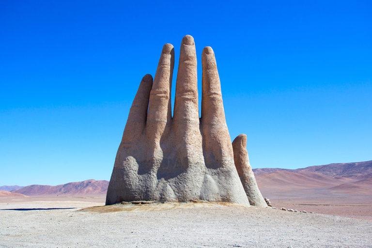 Mano del Deserto Atacama Cile