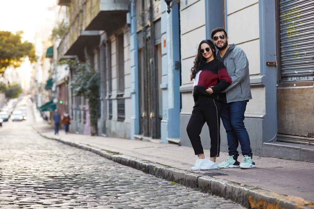 Couple photoshoot in Buenos Aires