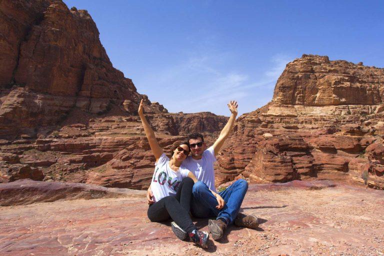 Travel photography in Jordan