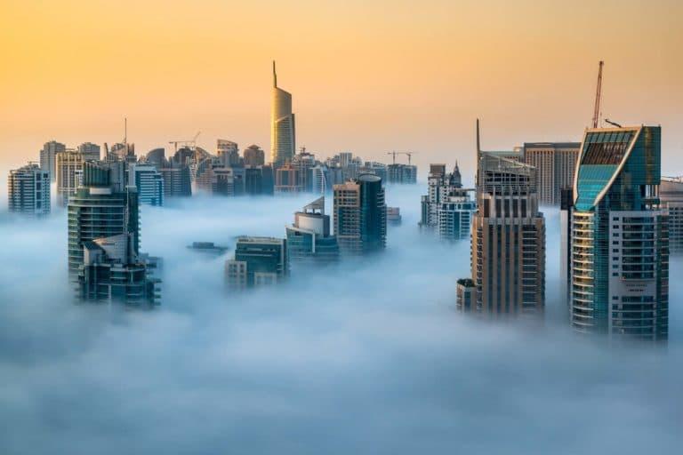 Dubai rascacielos