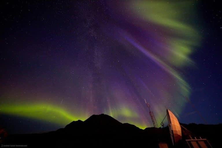 Aurora en Groenlandia