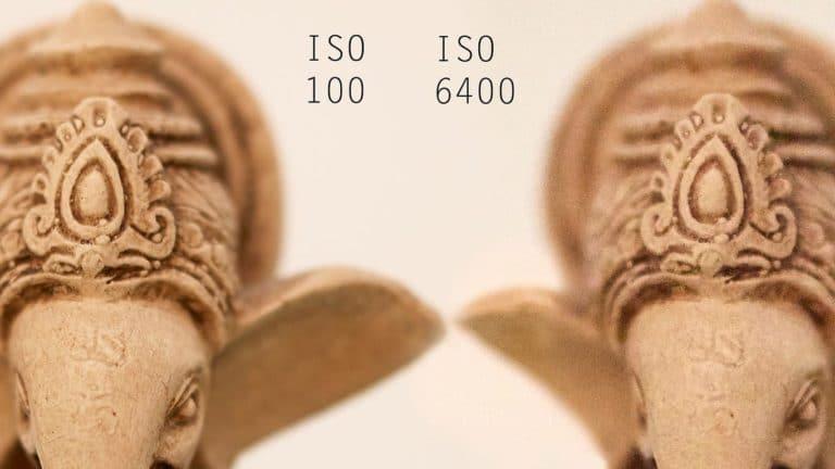 Sensibilità del sensore ISO