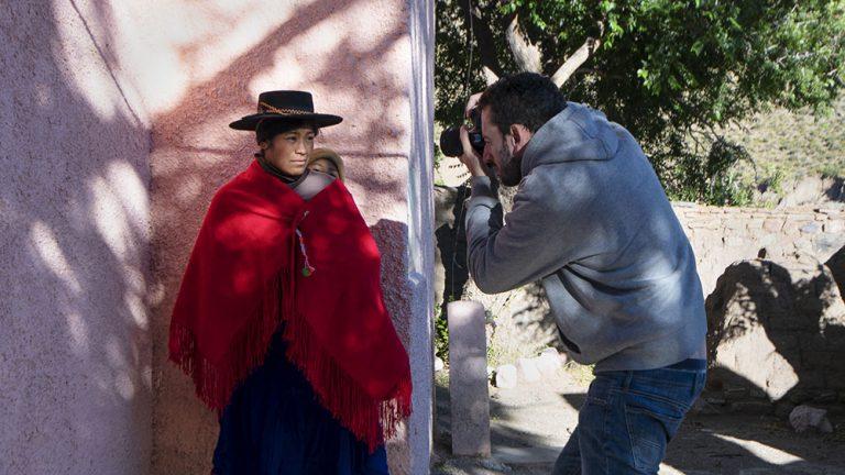 ritratto etnico nel nord dell'Argentina