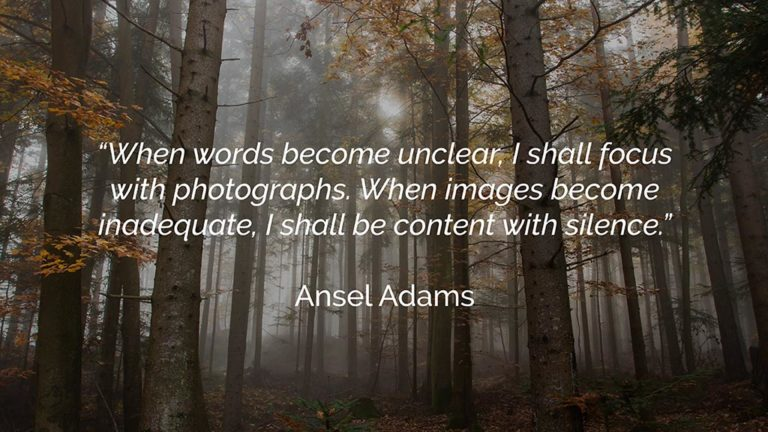 photography quotes ansel adams