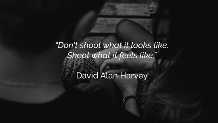 photography quotes david alan harvey