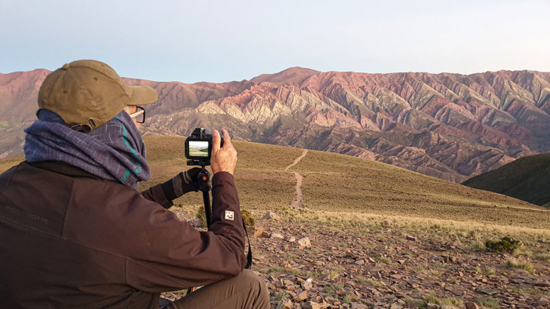 travel photographer in argentina